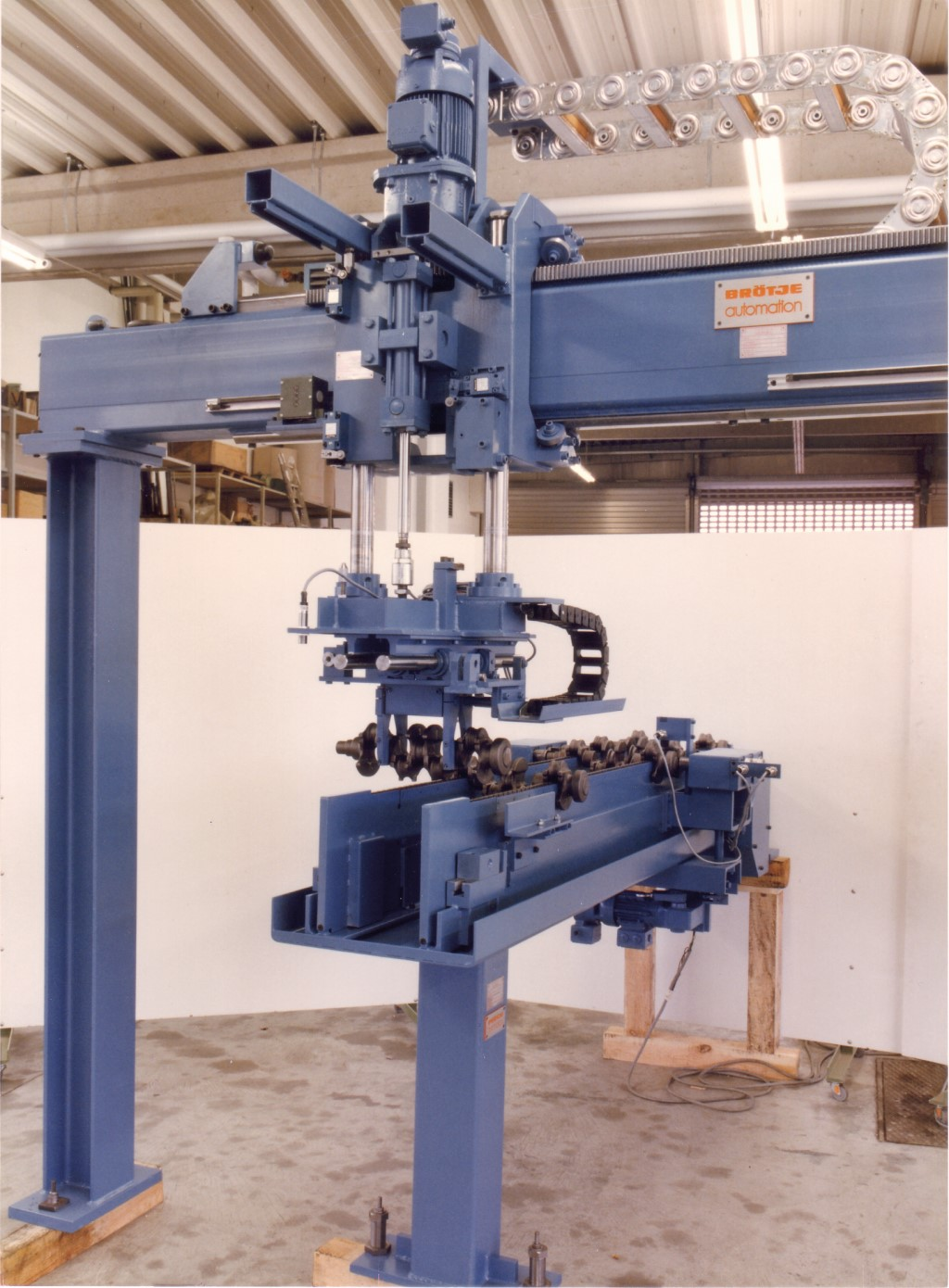 The success story of Broetje-Automation began in 1979 with a Flexiport loading system for the automotive industry. Photo: Broetje-Automation GmbH