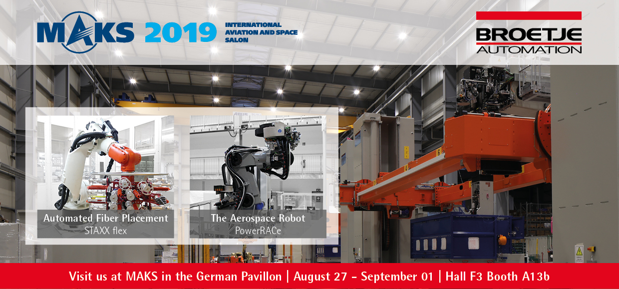 Automate 2019 - Broetje-Automation shows robots for