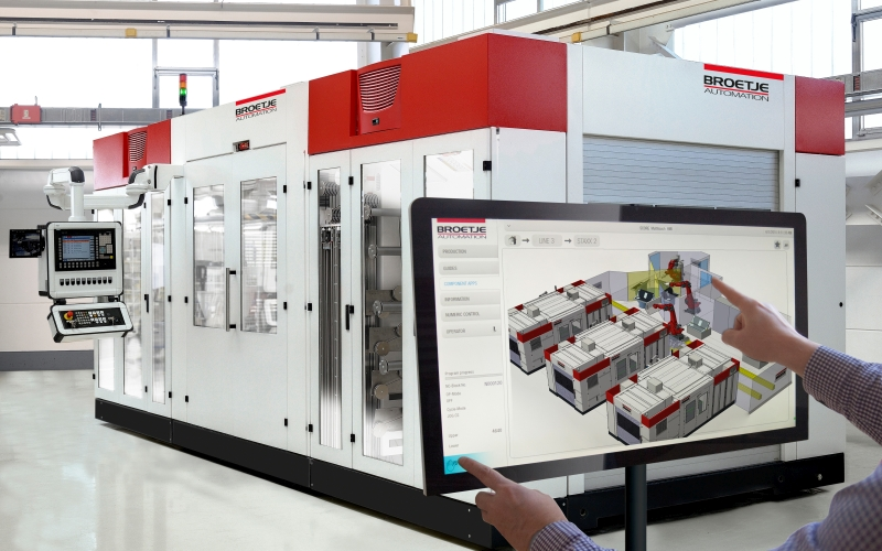 The Line Management System from Broetje-Automation offers transparency over the entire manufacturing process and thus allows effective control of entire production chains. As an interface to the customer's MES/ERP systems, it is the backbone for the integration of composite production. (Photo: Broetje-Automation)
